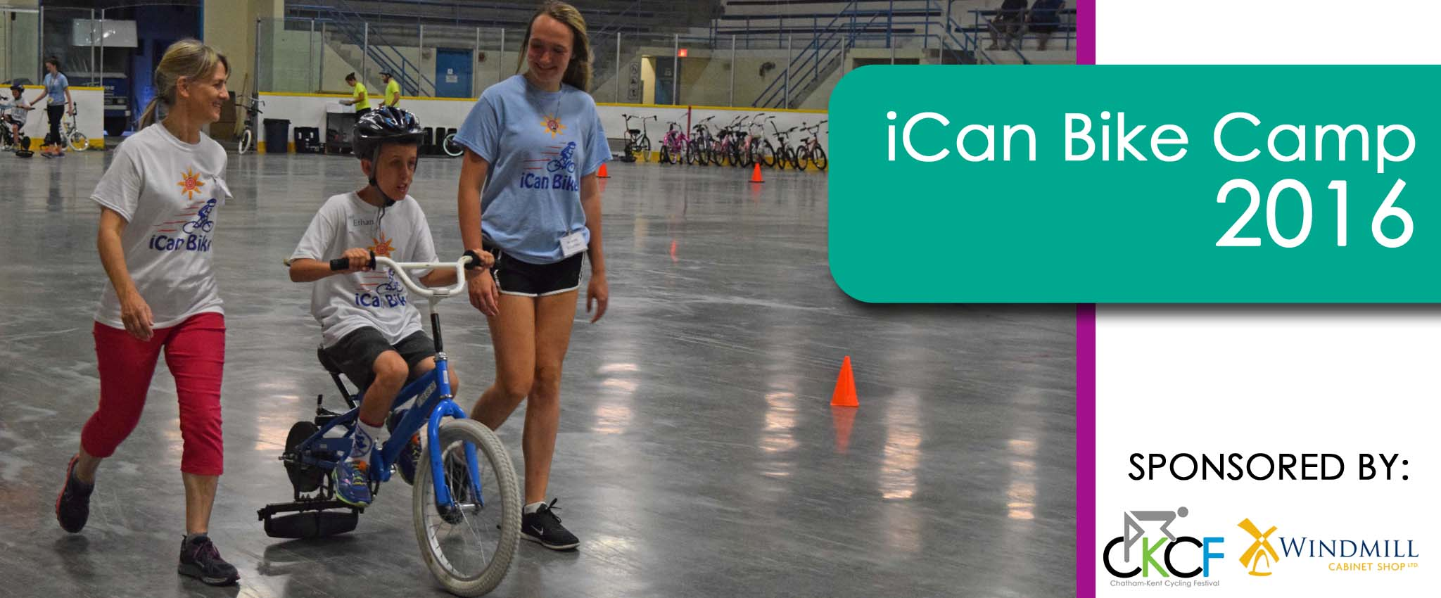 Ican Bike Camp Exciting Success Children S Treatment Centre