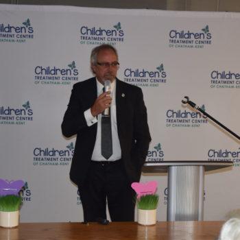 Photo of Mayor Randy Hope speaking