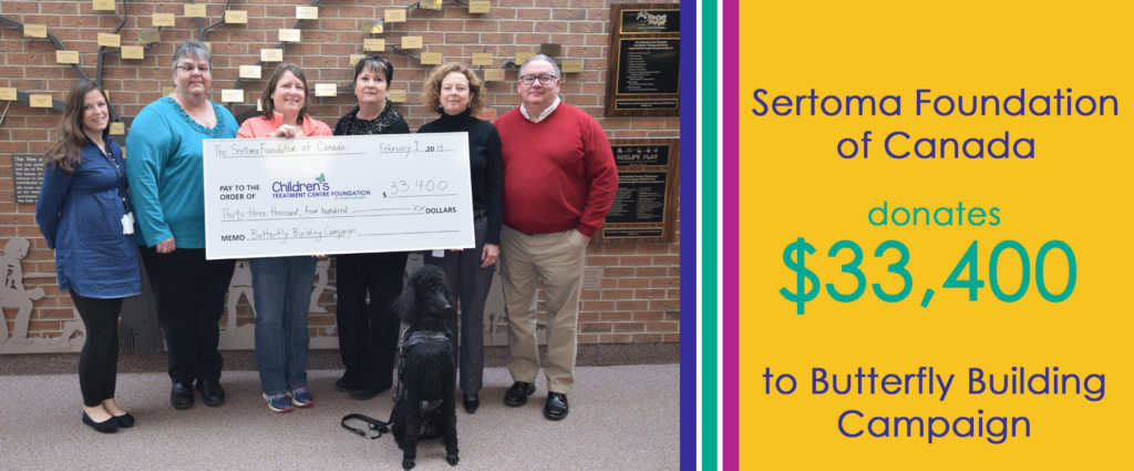 Sertoma Foundation donation photo