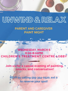 Paint Night Poster