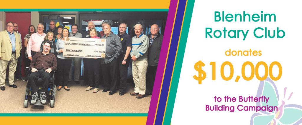 Blenheim Rotary Donation web banner 2019