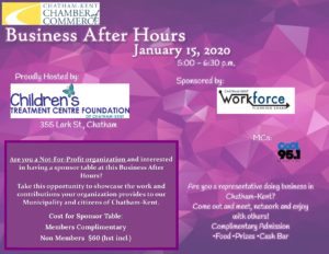 Business After Hours poster