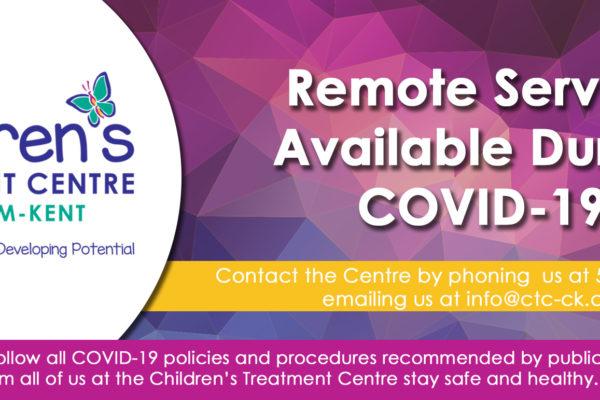 CTC-CK - Remote Access COVID-19